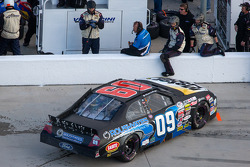 Grant Enfinger in the pits