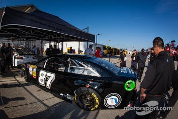 Car of Joe Nemechek, NEMCO Motorsports Toyota at technical inspection