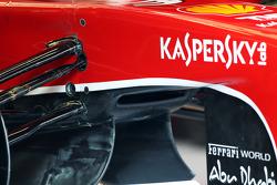 Ferrari F138 detail