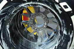 Pirelli wheel washed