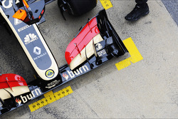 Lotus F1 E21 front wing
