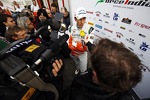 Adrian Sutil, Sahara Force India F1 with the media