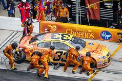 Pit stop for Austin Dillon, Richard Childress Racing Chevrolet