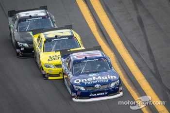 Elliott Sadler, Brian Vickers and Kyle Busch