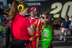 Danica Patrick, Tony Stewart with Jamie Little