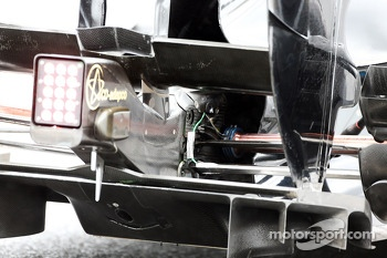 Lotus F1 E21 rear diffuser detail