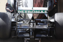 Mercedes AMG F1 W04 rear wing