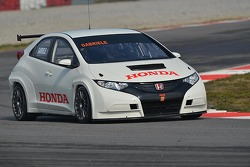 Honda Civic testing