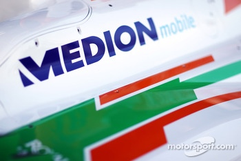 Sahara Force India F1 VJM06 Medion branding