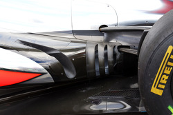 McLaren MP4-28 exhaust detail