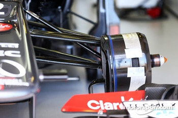 Sauber C32 brake