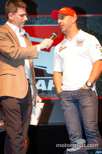 Drivers presentation: Tony Kanaan, KV Racing Technology Chevrolet