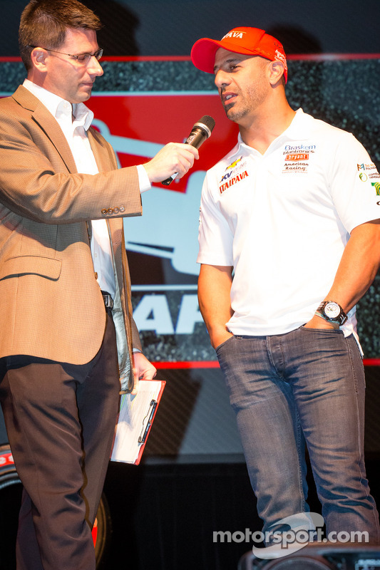 Drivers presentation: Tony Kanaan, KV Racing Technology Chevrolet