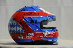Helmet, Franz Engstler, BMW E90 320 TC, Liqui Moly Team