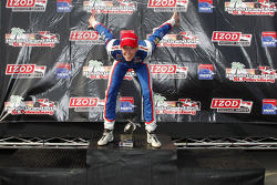 Podium: race winner Jack Hawksworth, Schmidt Peterson Motorsports