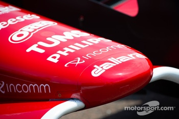 Car detail, Scott Dixon, Target Chip Ganassi Racing Honda