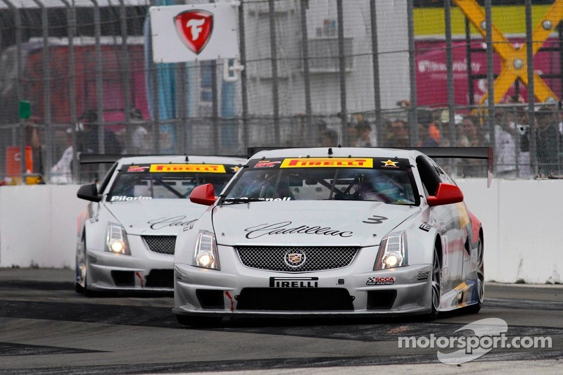 Johnny O'Connell & Andy Pilgrim, Cadillac Racing/Cadillac CTS-V.R