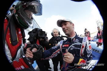 Race winner Sbastien Loeb