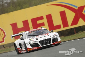 #13 Belgian Audi Club Team WRT Audi R8 LMS ultra: Frank Stippler, Edward Sandstrm