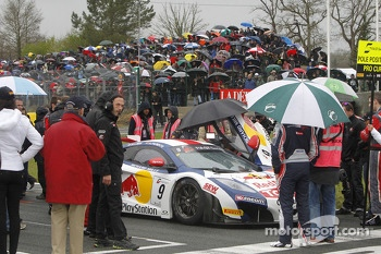 #9 Sbastien Loeb Racing McLaren MP4-12C: Sbastien Loeb, Alvaro Parente on the grid