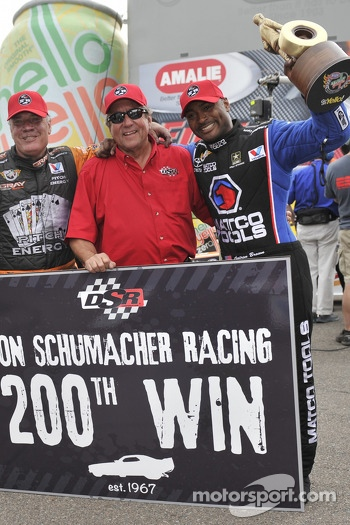 Schumacher Racing's 200th win