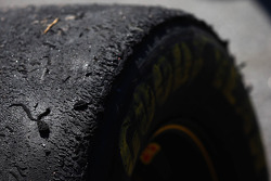 A used Goodyear Wrangler tire