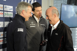 Jens Marquardt, Head of BMW Motorsport, Torger Christian Toto Wolff, Sporting Director Mercedes-Benz, Dr. Wolfgang Ullrich, Head of Audi Sport