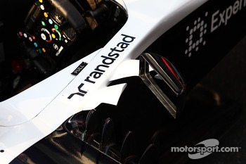 Williams FW35 cockpit detail