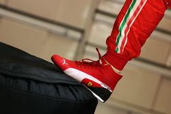 Puma racing boot of Felipe Massa, Ferrari