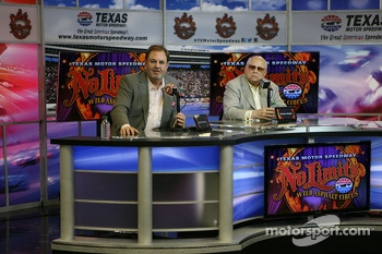 Eddie Gossage and Bruton Smith