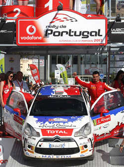 Bryan Bouffier, Xavier Panseri, Citroen DS3, WRC3 winner