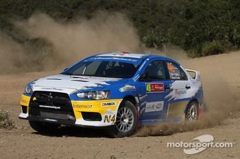Marco Vallario, Manuela Di Lorenzo (Mitsubishi Lancer Evo IX N4)