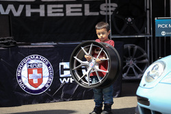 Wheels so light a child can hold