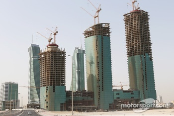 Buiding construction in Manama