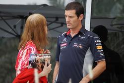 Mark Webber, Red Bull Racing with Helen Stewart