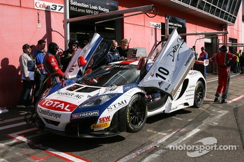 #10 Sbastien Loeb Racing McLaren MP4-12C: Mike Parisy, Andreas Zuber