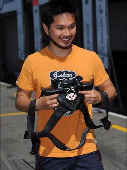 Charles Ng Ka Ki, BMW E90 320 TC, Liqui Moly Team Engstler