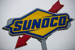 Sunoco gas station sign in the paddock