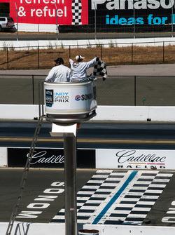 Sonoma Raceway Finish Line