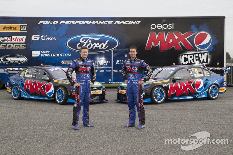 Ford Performance Racing livery unveil with Mark Winterbottom and Will Davison
