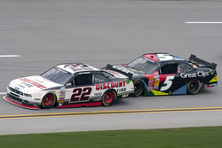 Joey Logano and Kasey Kahne