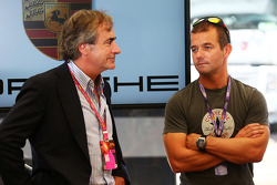 Carlos Sainz, with Sebastien Loeb