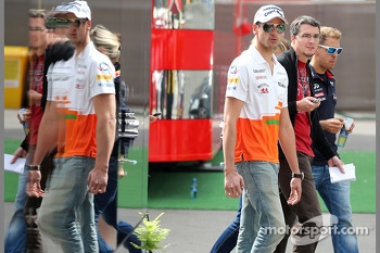 Adrian Sutil,, Sahara Force India F1 Team