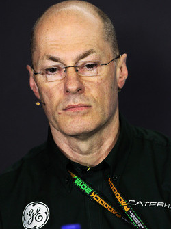 Mark Smith, Caterham F1 Team Technical Director in the FIA Press Conference