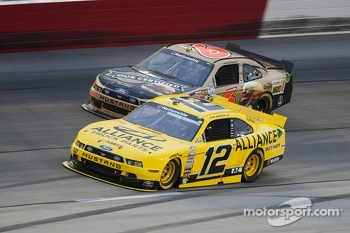 Sam Hornish Jr. and Trevor Bayne