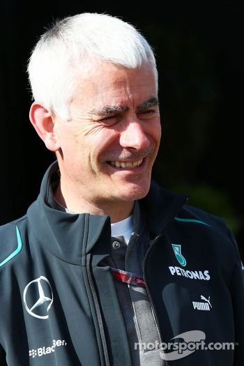 Geoff Willis, Mercedes AMG F1 Technology Director