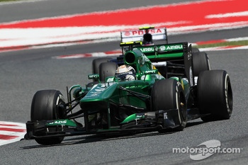 Giedo van der Garde, Caterham CT03