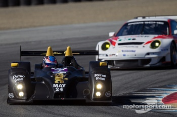 #7 BAR1 Motorsports Oreca FLM09: Tomy Drissi, Rusty Mitchell