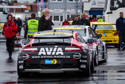 #60 Mathol Racing Aston Martin Vantage V8 GT4 (SP10) at technical inspection