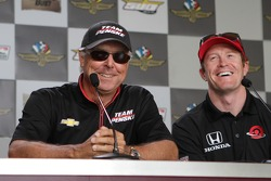 Rick Mears and Scott Dixon
